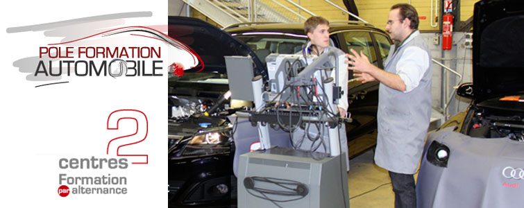 Le Pôle de Formation Automobile, forme ses étudiants aux métiers de la maintenance et du diagnostic automobile